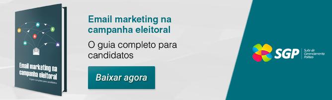 Email marketing na campanha eleitoral